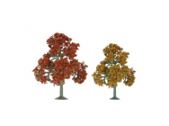 92111 Scenic Fall Deciduous, 3.5  to 4 , HO-Scale, (4 per pack) - JTT92111