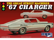 1:25 1967 Charger  Great Street Machine  - MPC829