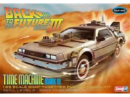 1:25 Back to the Future III Time Machine (Snap Kit) - POL926