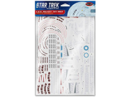1:1000 Star Trek U.S.S. Reliant NCC-1864 Aztec Decals - MKA012