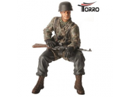 Figurine 1/16e Private First Class (Obergefreiter) Helmut Rossel - 222285092