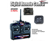 RC Radio Remote Control Complete Set 2.4 GHz - 1275100006