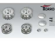 Driving and idler wheels for the Heng Long KV-1, KV-1 Torro metal chassis or the Torro KV-2 - 1387818001