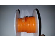 Durite fluo orange 25mm/5mm - HT-025005