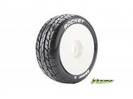 Louise RC - B-ROCKET - Pneus 1-8e Buggy - Soft - Jantes Blanches - Hex 17mm - 1 Paire - LR-T3190SW