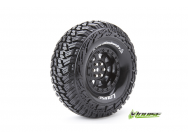 Louise RC - CR-GRIFFIN - Pneus 1-10e Crawler - Super Soft - Jantes 1.9  Noirs - Hex 12mm - 1 Paire - LR-T3230VB