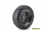 Louise RC - CR-ARDENT - Pneus 1-10e Crawler - Super Soft - Jantes 1.9  Noirs - Hex 12mm - 1 Paire - LR-T3232VB