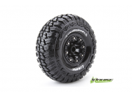 Louise RC - CR-GRIFFIN - Pneus 1-10e Crawler - Super Soft - Jantes 2.2  Noirs - Hex 12mm - 1 Paire - LR-T3235VB