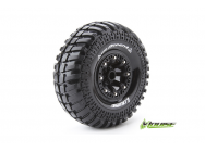 Louise RC - CR-ARDENT - Pneus 1-10e Crawler - Super Soft - Jantes 2.2  Noirs - Hex 12mm - 1 Paire - LR-T3237VB