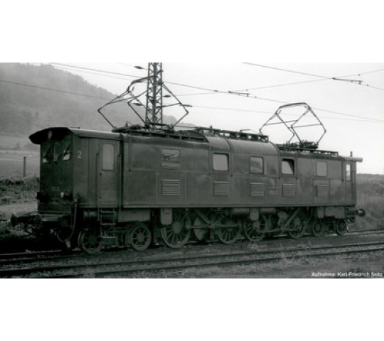 LOCOMOTIVE ELECTRIQUE E52 DB SON PIKO HO - T2M-P51822
