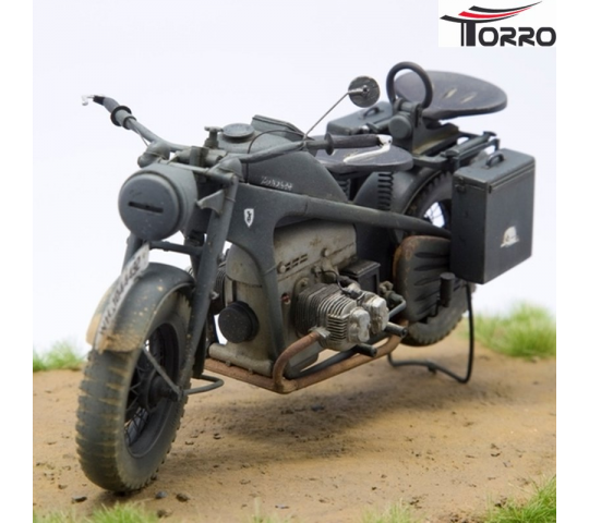 Motorcycle Zundapp KS-750/1 Solo 1/16 TBC Kit  - 2222000176