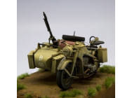 Motorcycle Zundapp KS-750 with Sidecar 1/16 TBC Kit - 2222000177
