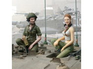 Figurine 1/16e Kit IDF FemaleTank Crew Set - 2222000227