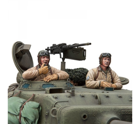 Figurine 1/16e Kit U.S TankCrew Set 5 - 2222000202