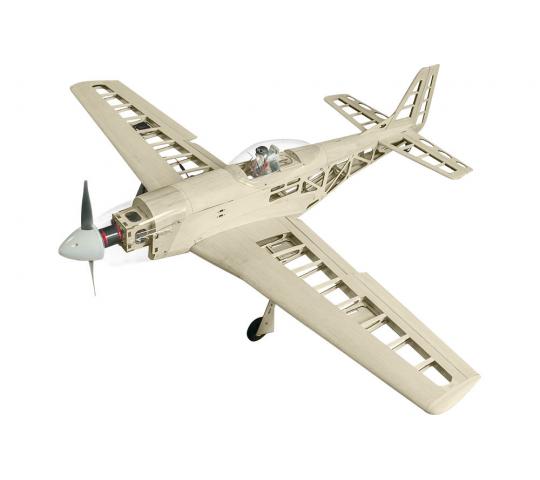 Super Flying Model P-51D Mustang 40 Kit à Monter