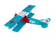 Super Flying Model Fokker DVII EP ARTF Teal - A-SFMEP46C