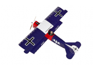Super Flying Model Fokker DVII EP ARTF Dark Blue Kit a monter - A-SFMEP46D