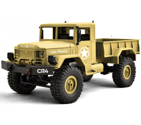 CR4-Truck 4WD Sable RTR 2.4Ghz - FTK-CR4-SD