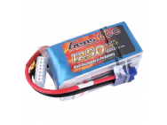 Gens ace 1250mAh 22.2V 60C 6S1P Lipo Battery Pack - B-60C-1250-6S1P