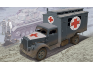 Camion Ambulance Allemand Dragon 1/35 - T2M-D6790