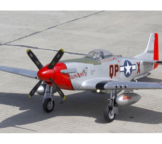 Freewing P-51 (IronAss) 1m40 - Train - Eclairage - FW30111P