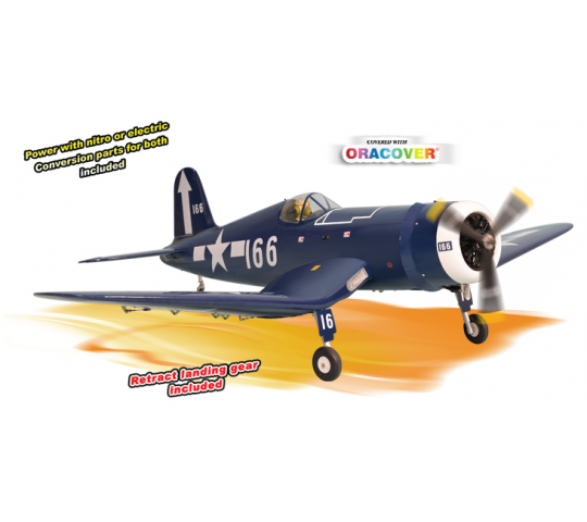 Phoenix Model F4U Corsair .120 GP/EP ARF 1.80m - PH140