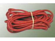 Fil Silicone AWG9 rouge 5m - 17091