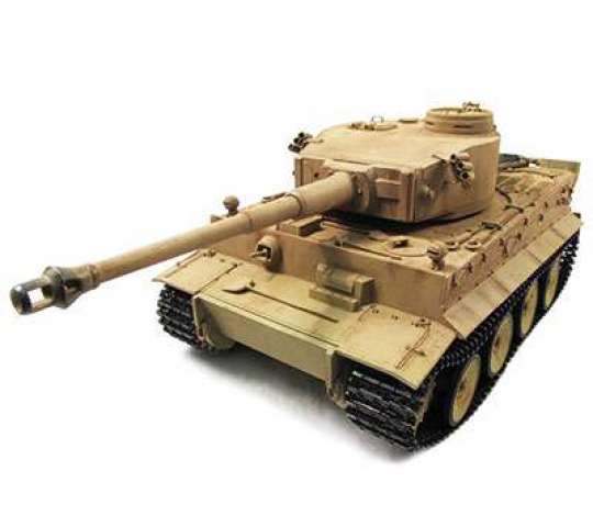 Panzer 1/16 Tiger I DESERT FULL METAL & EFFETS SONORES & FINITION MAQUETTE - 23078-COPY-1