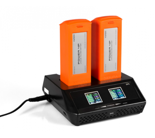 Chargeur Dual DY5 Yunnec - YUNDY3