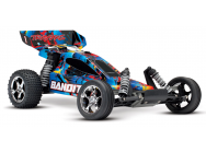 Traxxas Bandit 2WD Rock n  Roll 1/10 Brushed - TRX24054-4