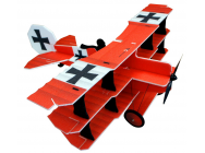 Crack Fokker Dr. I Brava rouge et noir RC-Factory - RCF-L11-COPY-1