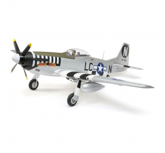 Eflite P-51D Mustang 1.2m BNF Basic AS3X SAFE EFL8950