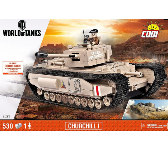 Churchill I Tank Cobi - COB3031