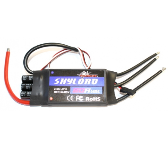 Controleur Brushless Skylord 80A - Skylord-80A-UBEC