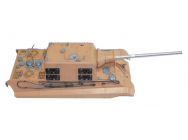 Carrosserie et Tourelle Jagdtiger 1/16 version BB - 1383888001