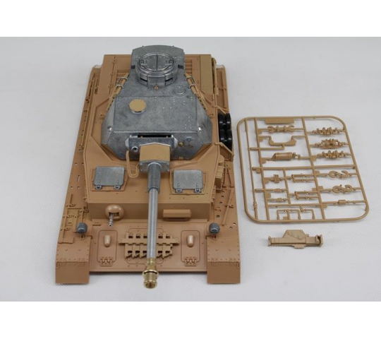 Carrosserie et tourelle metal Panzer IV version BB 1/16 - 1383859011