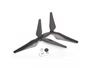 9450S Full Carbon Fiber Propellers 3-Blade Self-Tightening Props With Propeller Mounts For DJI Phantom 4/ PRO/ PRO+/ ADVANCED/ ADVANCED +  - 9450S-3-1