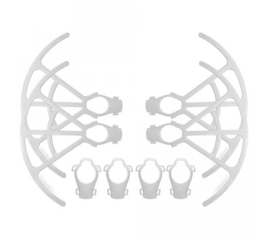 Quick-Release Propeller Guards Protectors Shielding Rings Bumper 9450S Propeller Guards For DJI Phantom 4 /PRO/PRO+ Blanc - P4-KC42
