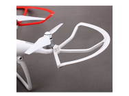 1set New Phantom 4 Quick-release Propeller Guards Protectors Shielding Rings Bumpers for DJI Phantom4/PRO/PRO+ Fortress Design Blanc - P4-KC43