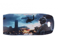 Sunnylife Color Printed Shell Creative Graffiti Protection Shell for DJI SPARK War - SP-JK979-WAR