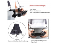 7-9in-9-7in-Tablet-Bracket-Tablet-Holder-With-Dual-Strap-Hook-Remote-Controller-Clip - MV-ZJ012