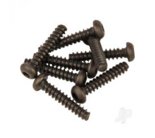 Round Head Self Tapping Hex Screw 3x15 8pcs (Karoo) - VTAS01133