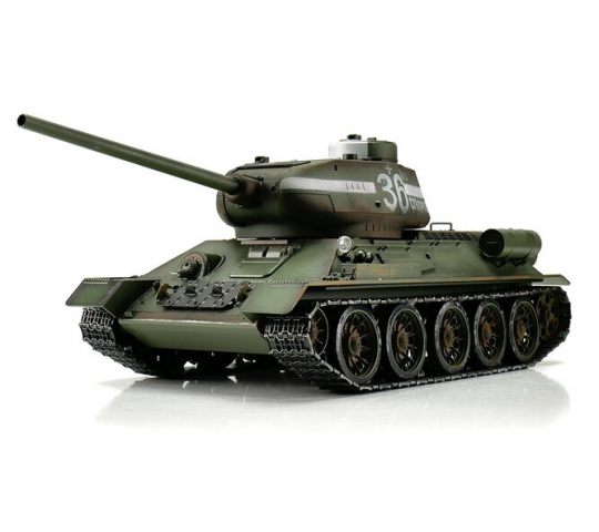 T34/85 Pro-Edition Green 1/16 BB 2.4GHZ - 1112400400