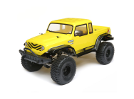ECX Barrage Gen2 1.55 4WD Scaler 1/12e Brushed RTR Jaune - ECX01013IT2