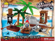 Pirates - L ile des pirates 140 pieces, 2 figurines - COB6023