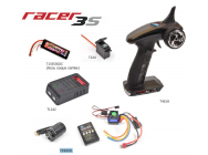 Pack Radio Racer 3S + Chargeur Pocket + Servo T224 + Accu 2S 3500maH + Combo Brushless T2M - T4618L2