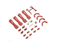 Plastic Kit, Red - Vortex 230 - Blade - BLH9269
