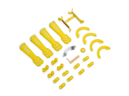 Plastic Kit, Yellow - Vortex 230 - Blade - BLH9275