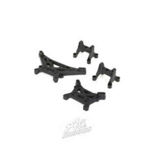 Complete Shock Set(4) - 1/24 4WD Barrage - ECX - Electrix RC - ECX203003