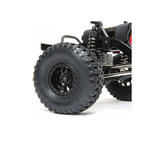 1.55 Wheel, Black (2) - Barrage 2.0 - ECX - Electrix RC - ECX41007